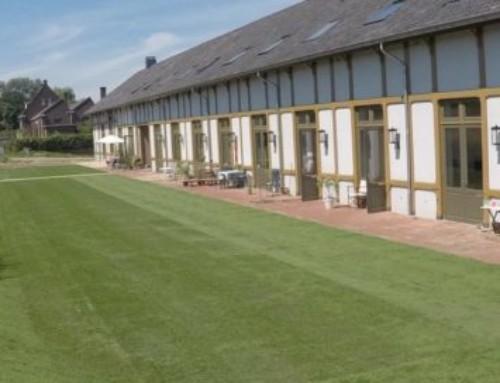 Graszoden leggen in Nijmegen